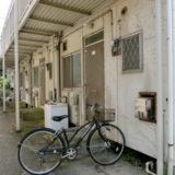 築古アパートの汚い共用部