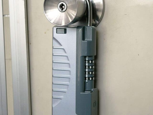 ノムラテック カギの収納BOX キーストック ハンディ シルバー