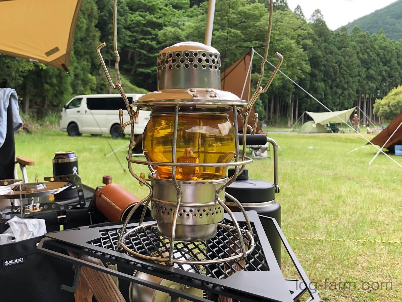 レイルロードランタン「W.T.Kirkman Heritage No.999 Railroad Lantern Amber」