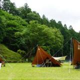 白川渡オートキャンプ場でソログルキャンプ