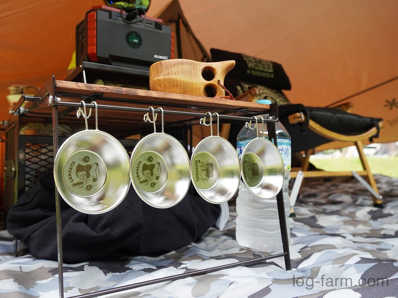 ソマビトのシェラカップとネイチャートーンズのサイドアップボックス&テーブル