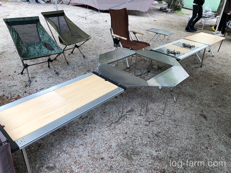 IGTフレームとジカロテーブル